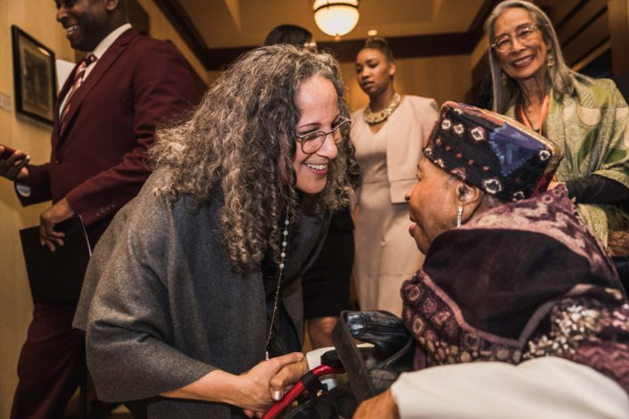 Mamie with Gina Belafonte, 2018