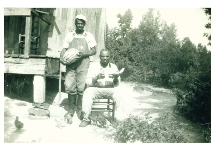 Uncle Julius (left) and Uncle Nathan (right)